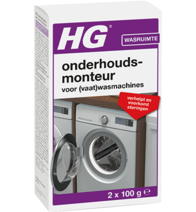 Hg Onderhoudsmonteur Wasmachine/vaatwasser (2x100g) (8711577017484)