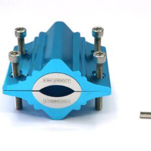 KIMO DIRECT Waterontharder 12800 Gauss met 6 Teststrips - Huishouden tot 30 personen - Waterleiding Magneet - Blauw (8720261051734)