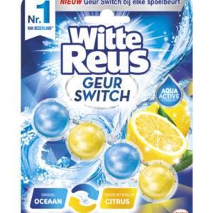 Witte Reus Geur Switch Oceaan / Citrus Toiletblok (50g) (5410091745912)