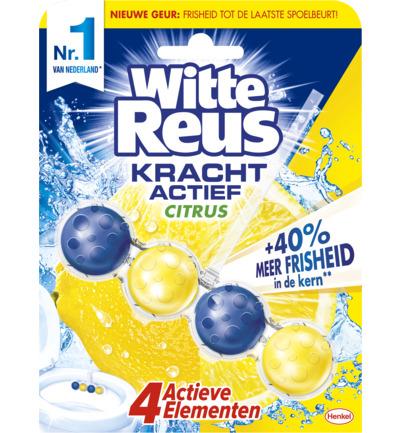Witte Reus Krachtig Active Citrus Toilet Blok (1st) (5410091747794)