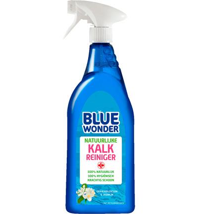 Blue Wonder 100% Natuurlijk Kalk Reiniger Spray (750 Ml) (8712038001684)