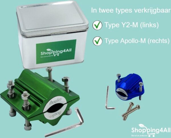 Shopping4All Y2-M - Waterontharder - Magnetisch (8719327371589)